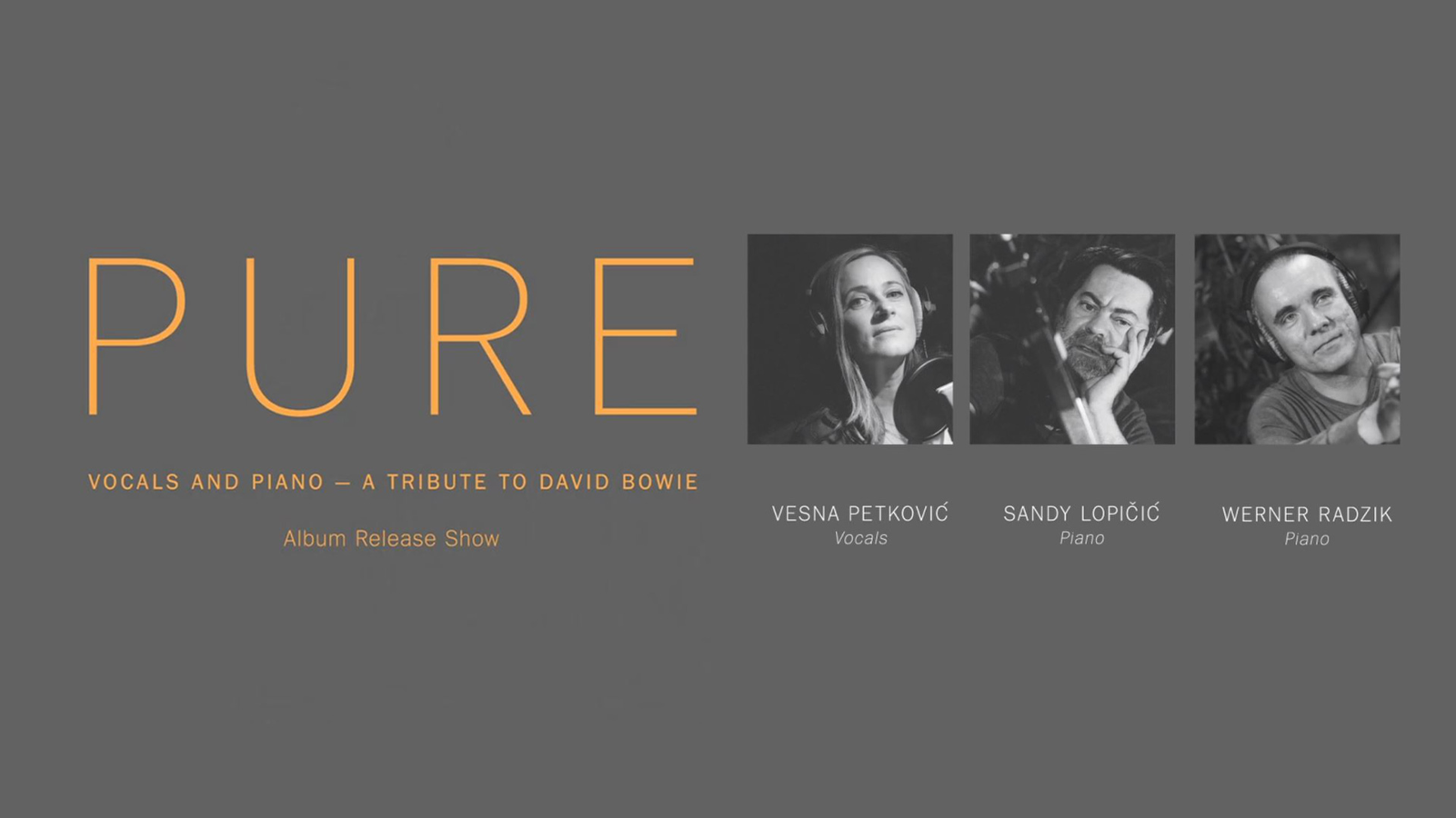 Pure | a tribute to David Bowie