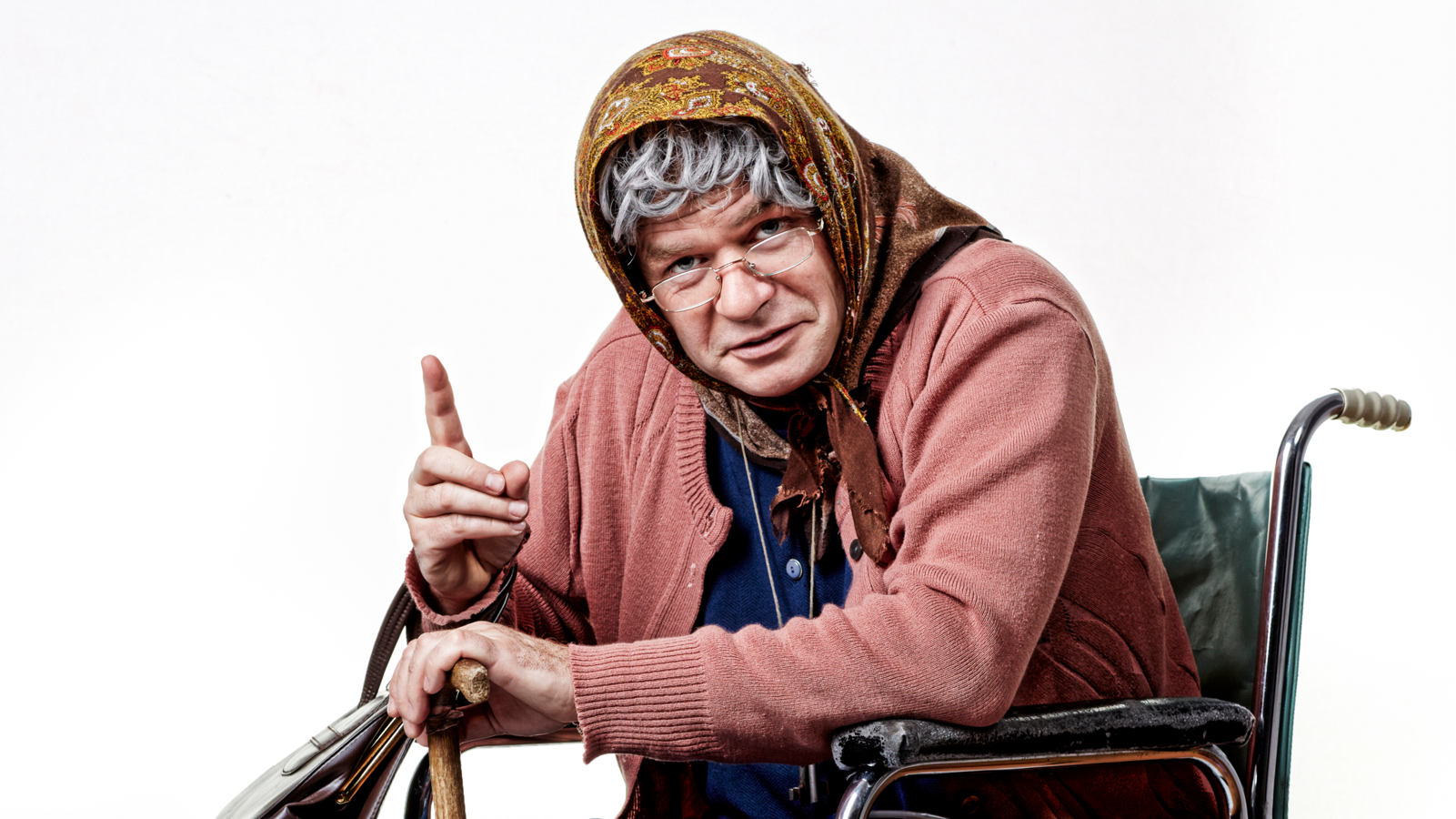 Markus Hirtler als Ermi Oma
